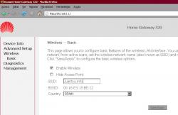 Wifi Huawei Echolife hg520 1