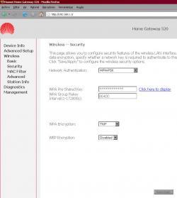 Wifi Huawei Echolife hg520 3